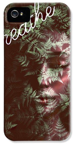 Breathe iPhone 5 Case - Breathe by Jacky Gerritsen