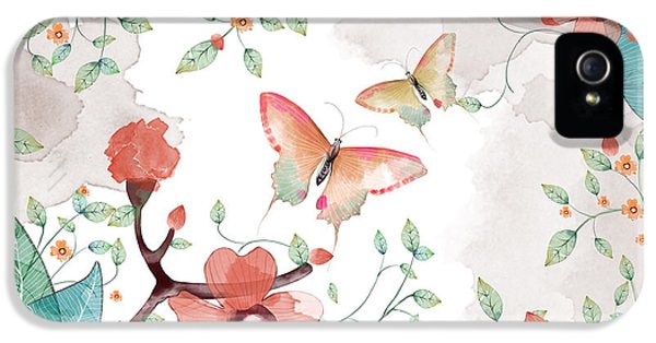 Fairy iPhone 5 Case - Creative Illustration And Innovative by Nextmarsmedia