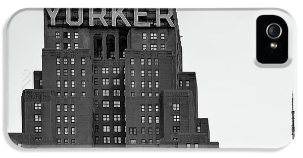 Office Buildings iPhone 5 Case - Defining New York by Az Jackson