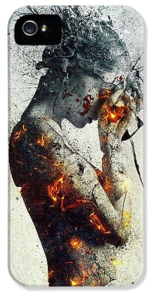 Nudes iPhone 5 Case - Deliberation by Mario Sanchez Nevado