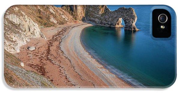Dorset iPhone 5 Case - Durdle Door In Summer by Joana Kruse