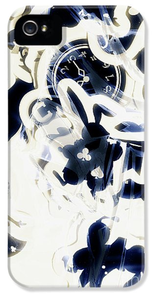 Trumpet iPhone 5 Case - Follow The Blue Rabbit by Jorgo Photography - Wall Art Gallery