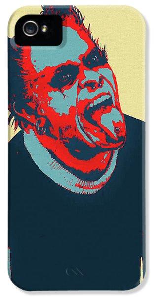Breathe iPhone 5 Case - Keith Flint by Dan Sproul