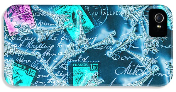 French iPhone 5 Case - Landmark Love Letter by Jorgo Photography - Wall Art Gallery