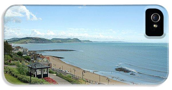 Dorset iPhone 5 Case - Lyme Bay, Dorset by John Edwards