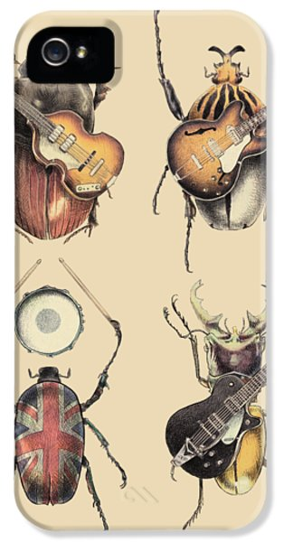 Day iPhone 5 Case - Meet The Beetles by Eric Fan