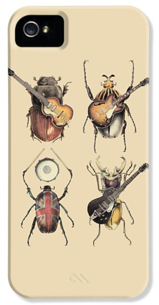 iPhone 5 Case - Meet The Beetles by Eric Fan