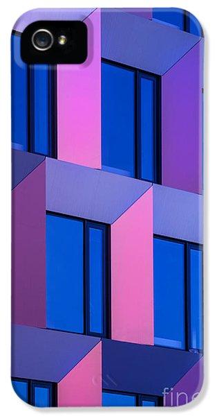 Office Buildings iPhone 5 Case - Modern Building by Jirkabursik