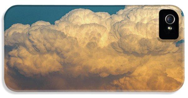 Nebraskasc iPhone 5 Case - Nebraska Sunset Thunderheads 053 by NebraskaSC