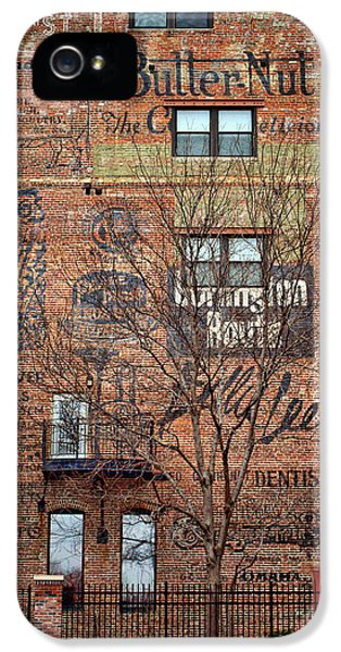 Nebraska iPhone 5 Case - Old Market - Omaha - Metz Building - #1 by Nikolyn McDonald