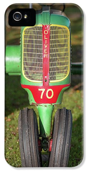 Oliver Tractor iPhone 5 Case - Oliver 70 by Todd Klassy