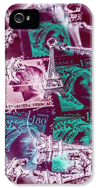 French iPhone 5 Case - Parisian Postmarks by Jorgo Photography - Wall Art Gallery