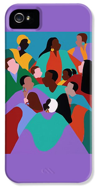 iPhone 5 Case - Resilience by Synthia SAINT JAMES
