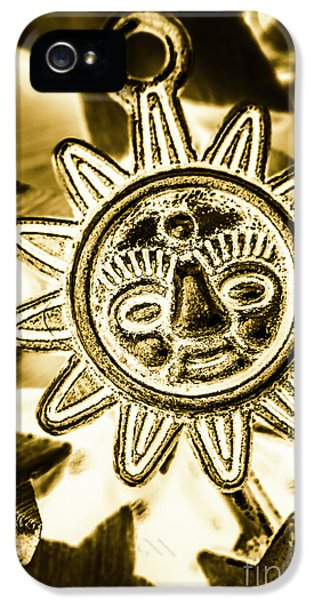 Pendant iPhone 5 Case - Tribal Suns  by Jorgo Photography - Wall Art Gallery