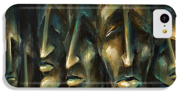 Figurative iPhone 5c Case -  ' Jury Of Eight ' by Michael Lang