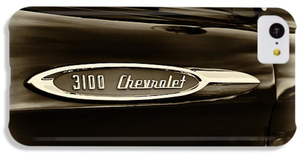 3100 Chevrolet Truck Sepia IPhone 5c Case by Tim Gainey