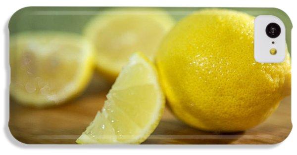 Lemon Citrus Limon Zitronen IPhone 5c Case