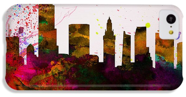 Miami City Skyline IPhone 5c Case
