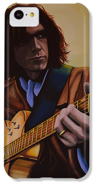 Neil Young Painting IPhone 5c Case