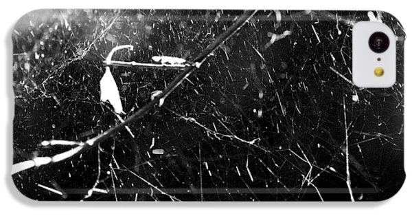 IPhone 5c Case featuring the photograph  Spidernet by Yulia Kazansky