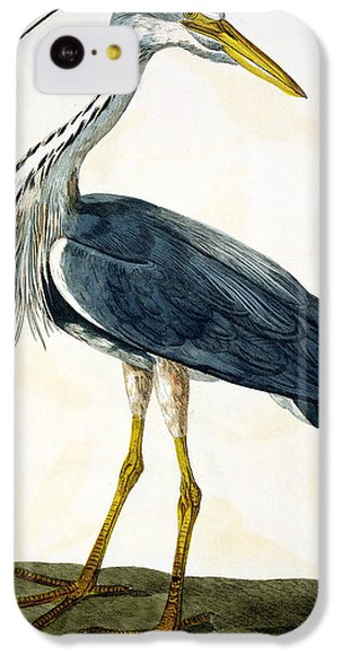 The Heron  IPhone 5c Case by Peter Paillou