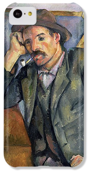 The Smoker IPhone 5c Case by Paul Cezanne
