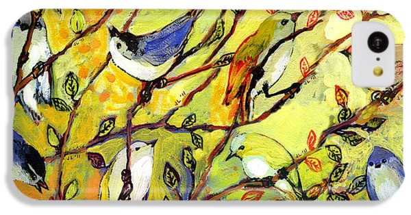 Finch iPhone 5c Case - 16 Birds by Jennifer Lommers