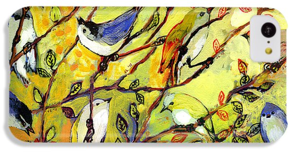 16 Birds IPhone 5c Case by Jennifer Lommers