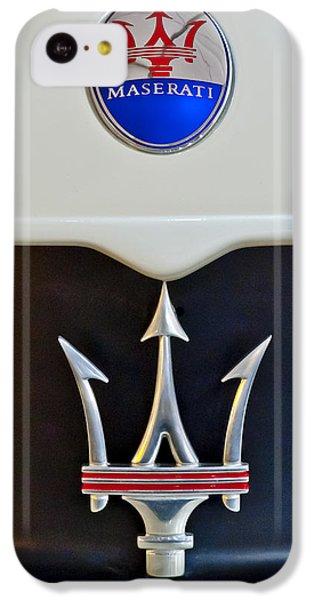 2005 Maserati Mc12 Hood Emblem IPhone 5c Case