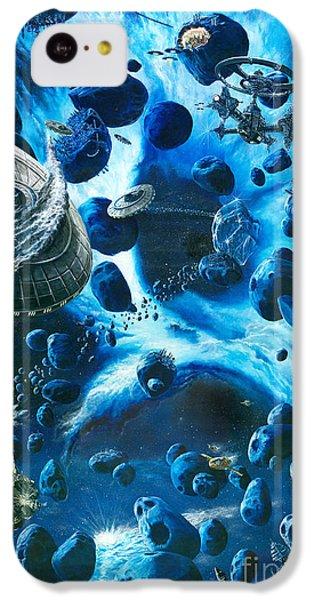 Alien Pirates  IPhone 5c Case by Murphy Elliott