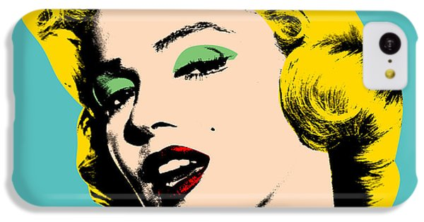 Portraits iPhone 5c Case - Andy Warhol by Mark Ashkenazi