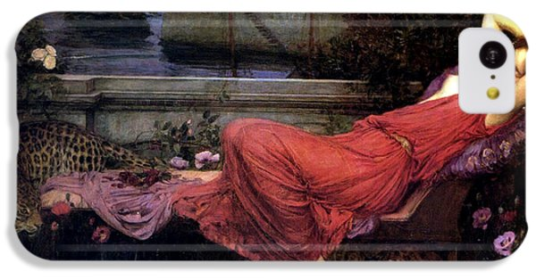 Minotaur iPhone 5c Case - Ariadne by John William Waterhouse