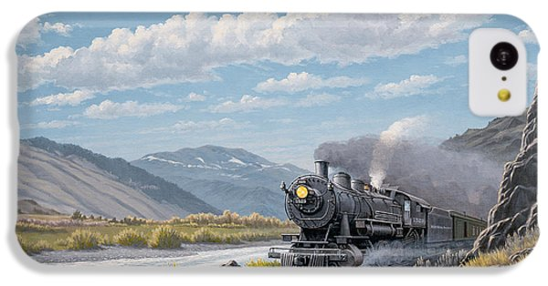 Train iPhone 5c Case - At Point Of Rocks-bound For Livingston by Paul Krapf