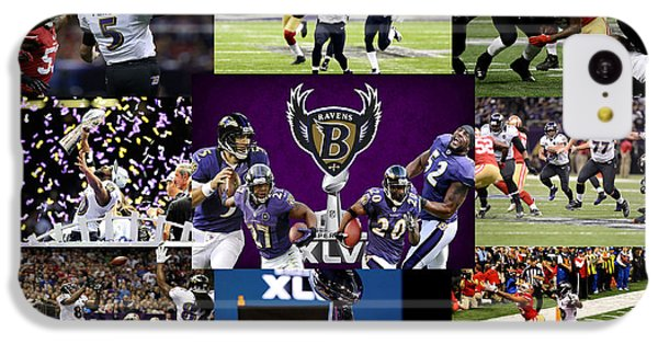 Baltimore Ravens IPhone 5c Case by Joe Hamilton