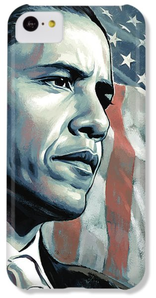 Barack Obama Artwork 2 IPhone 5c Case by Sheraz A
