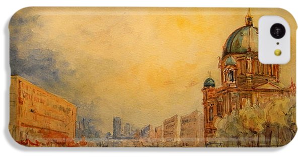 Berlin IPhone 5c Case by Juan  Bosco
