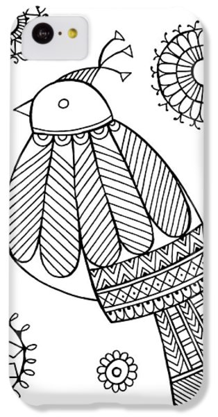 Bird Dove IPhone 5c Case by Neeti Goswami