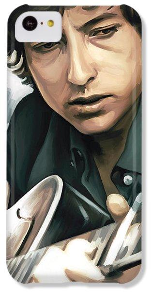 Bob Dylan Artwork IPhone 5c Case by Sheraz A