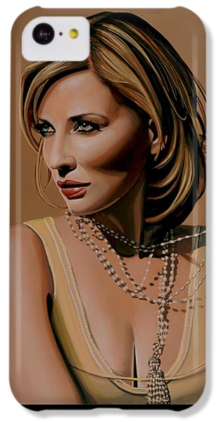 Robin iPhone 5c Case - Cate Blanchett Painting  by Paul Meijering