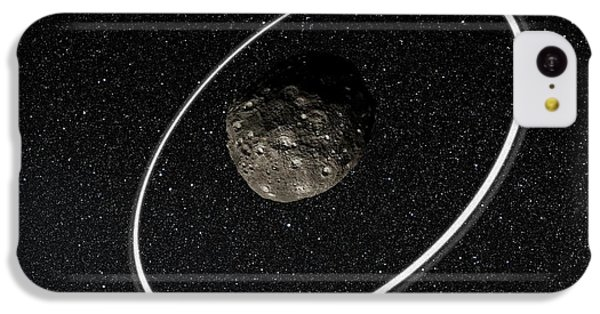 Chariklo Minor Planet And Rings IPhone 5c Case by European Southern Observatory