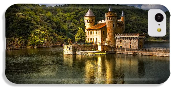 Chateau De La Roche IPhone 5c Case by Debra and Dave Vanderlaan