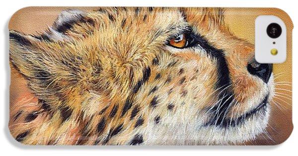 Cheetah iPhone 5c Case - Cheetah by David Stribbling