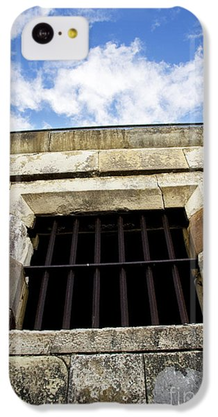 Dungeon iPhone 5c Case - Convict Cell by Jorgo Photography - Wall Art Gallery