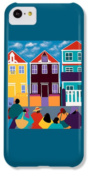 iPhone 5c Case - Curacao Dreams by Synthia SAINT JAMES