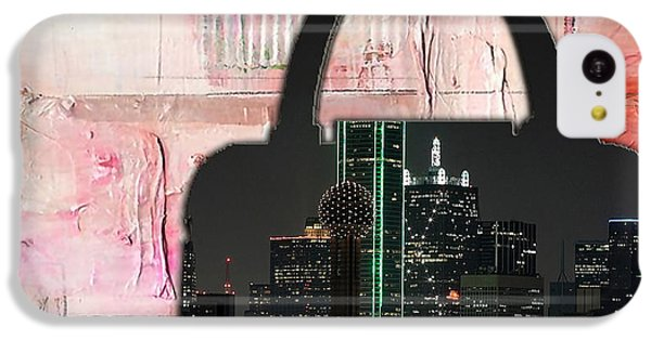 Dallas Texas Skyline In A Purse IPhone 5c Case by Marvin Blaine