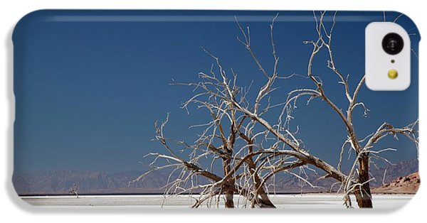 Bono iPhone 5c Case - Dead Trees On Salt Flat by Jim West