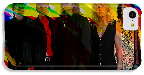 Def Leppard IPhone 5c Case by Marvin Blaine