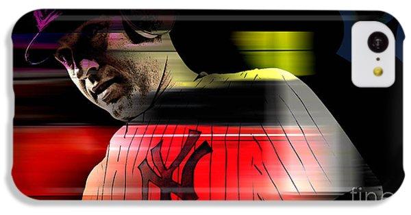 Derek Jeter IPhone 5c Case by Marvin Blaine