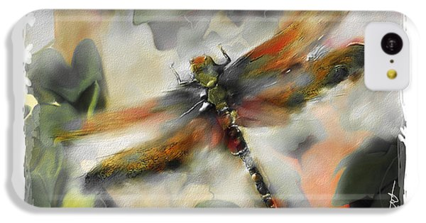 Impressionism iPhone 5c Case - Dragonfly Garden by Bob Salo