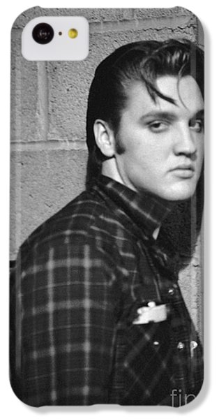 Elvis Presley 1956 IPhone 5c Case by The Harrington Collection